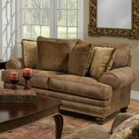 Franklin Traditional Loveseat - Old Brick Furniture - Love ...