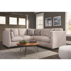 2 Piece Living Room Furniture Brown Decor Franklin Hawthorne Contemporary Two Sectional Sofa Stoney