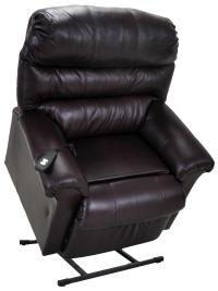 Franklin Lift and Power Recliners 498 LM 10-75 Chocolate ...
