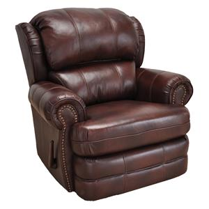 la z boy martin big and tall executive office chair brown graco mealtime high recliners olinde s furniture bradford recliner with traditional style