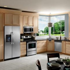 Frigidaire Kitchen Package Kidkraft Modern Country 53222 4 Piece Stainless Steel Boulevard Home By