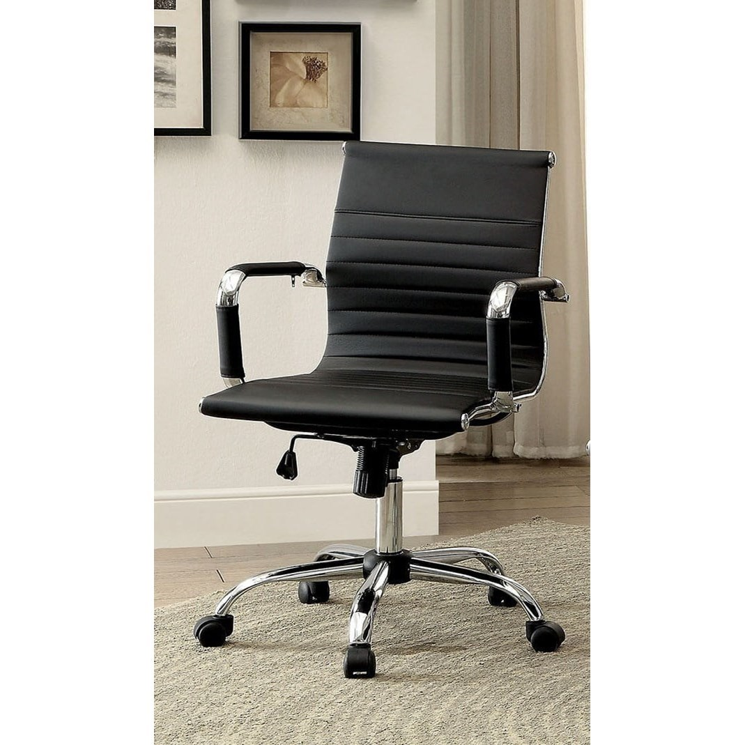 Low Back Office Chair Avondale Contemporary Low Back Office Chair With Casters By America At Del Sol Furniture