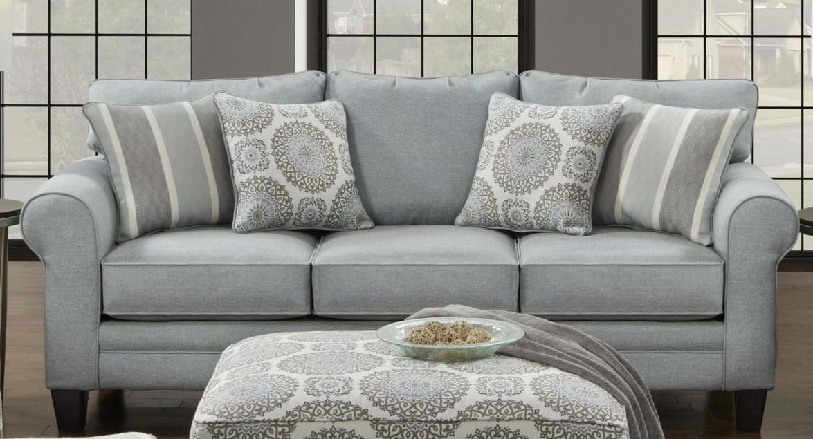 sleeper sofas queen size reclining and loveseats sets fusion furniture 1140 grande mist | fair ...
