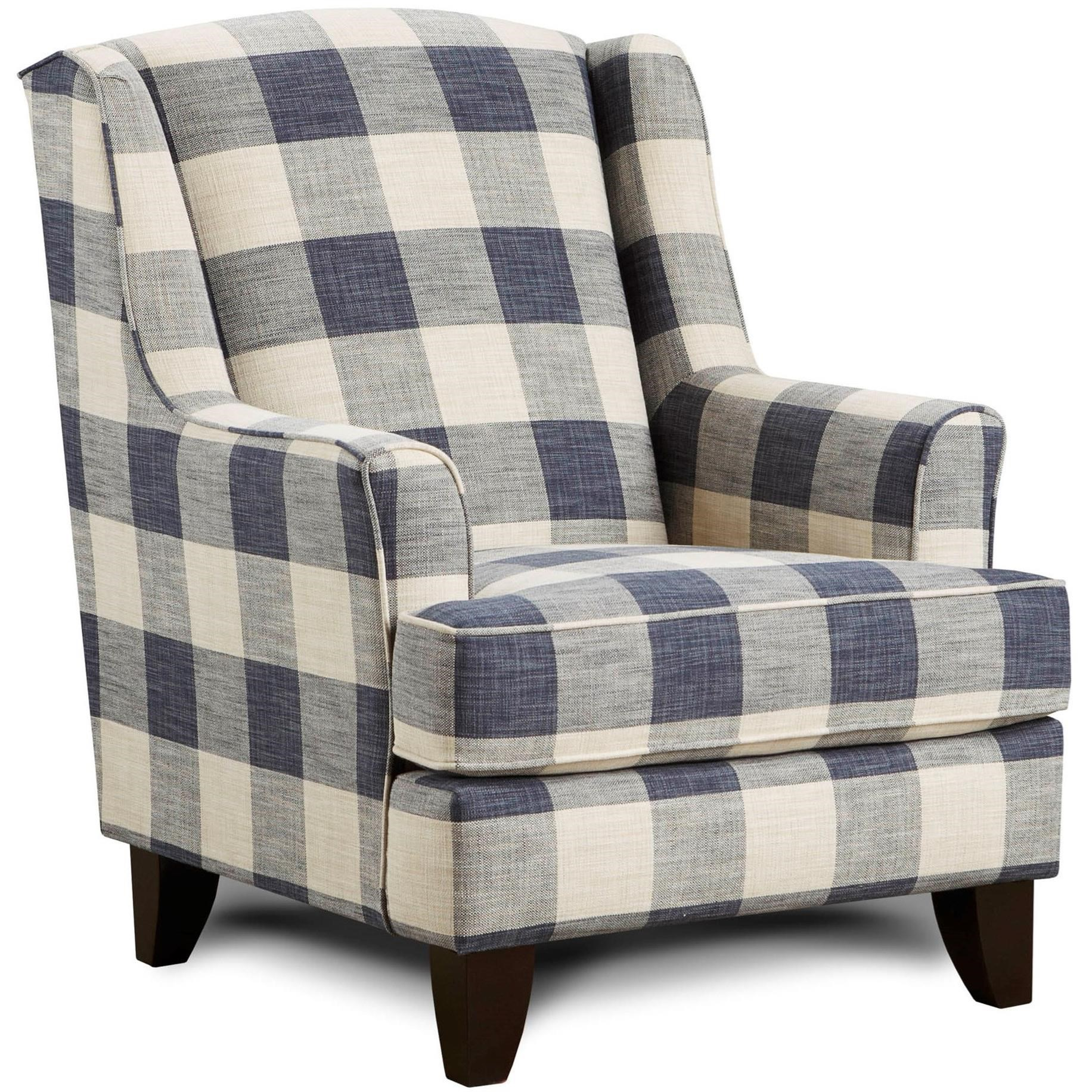 Wing Back Chairs 260 Indigo Wing Back Chair By Fusion Furniture At Crowley Furniture Mattress