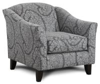 Fusion Furniture 452 Contemporary Accent Chair with ...