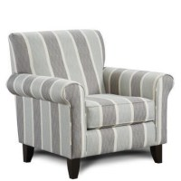 Fusion Furniture 502 Print Fabric Accent Chair | Miskelly ...