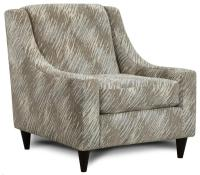 Fusion Furniture 592 Accent Chair with Sloping Track Arms ...