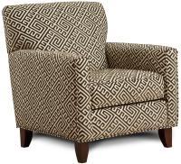 Fusion Furniture 702 - Thespian Mocha Contemporary Accent ...