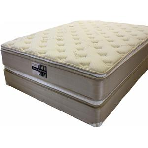 Golden Mattress Company Ortho Support 5000 Full Pillow Top Set