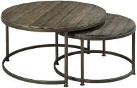 Hammary Leone 563-911 Round Nesting Cocktail Table ...