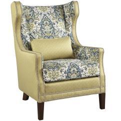 Traditional Wingback Chair Futon Walmart Hekman Gardner Wing With Nailhead Trim