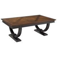 Hekman Neo Classic Coffee Table with Two-Tone Finish ...