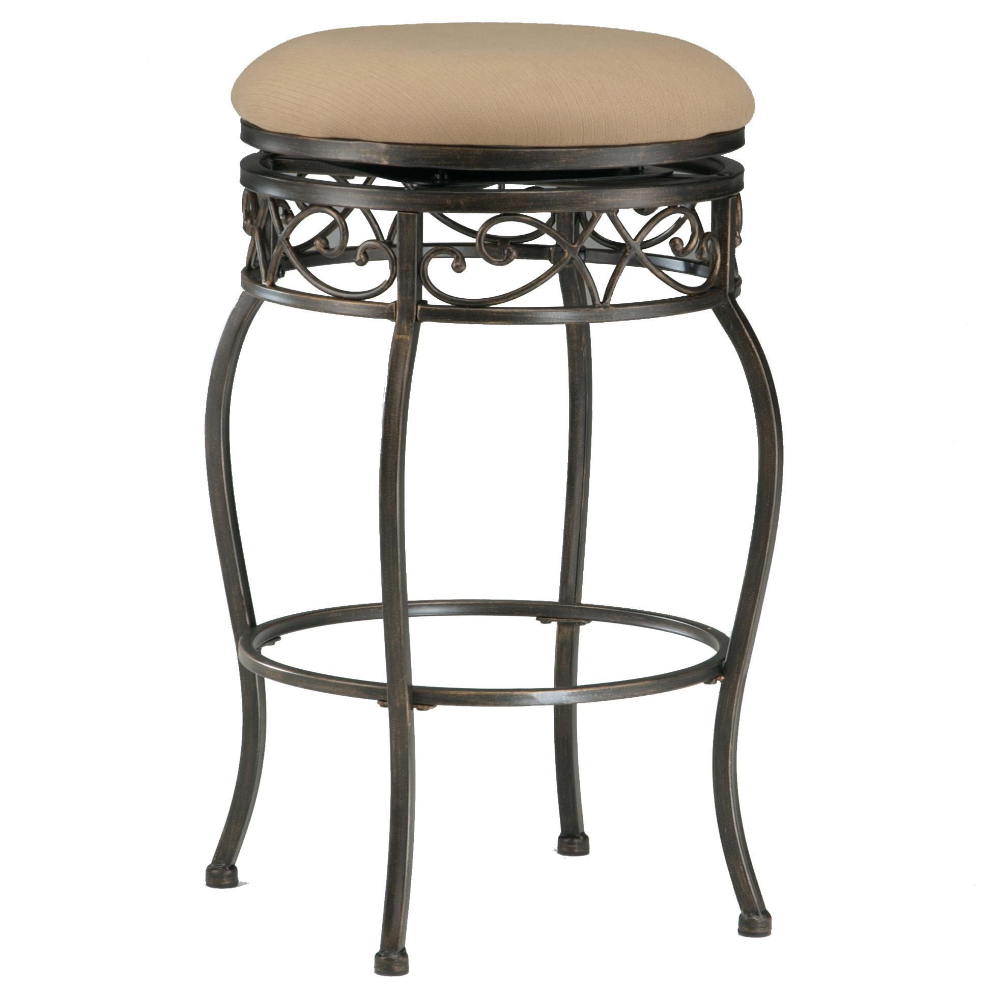 backless swivel bar stools