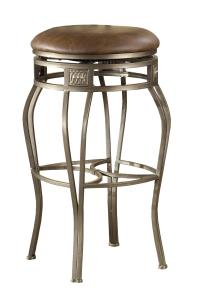 "Hillsdale Backless Bar Stools 30"" Backless Montello Swivel"