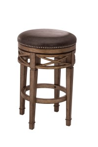 Backless Bar Stools Upholstered Backless Swivel Counter
