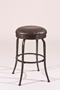 Hillsdale Backless Bar Stools Black Backless Swivel ...