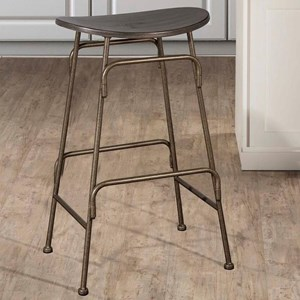 backless chair height stool office chairs ebay hillsdale metal stools 4032 827 counter