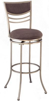 "Hillsdale Metal Stools 24"" Counter Height Amherst Swivel ..."