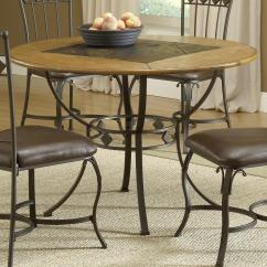 Stone Top Kitchen Table 2 Seater Hillsdale Lakeview Round Wood Dining Olinde S Item Number 4264dtbrd