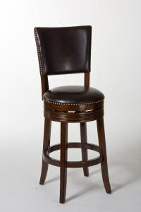 Hillsdale Wood Stools Sonesta Swivel Counter Stool with