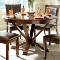 Elegance Helena 5327-48 Transitional Round Kitchen Table ...