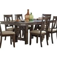 Homelegance Mattawa Industrial Dining Table   Beck's ...