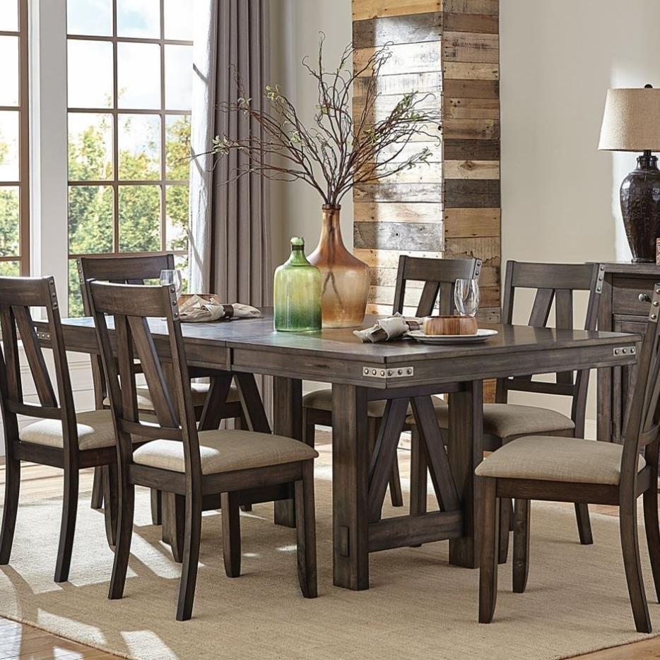 Homelegance Mattawa Industrial Dining Table