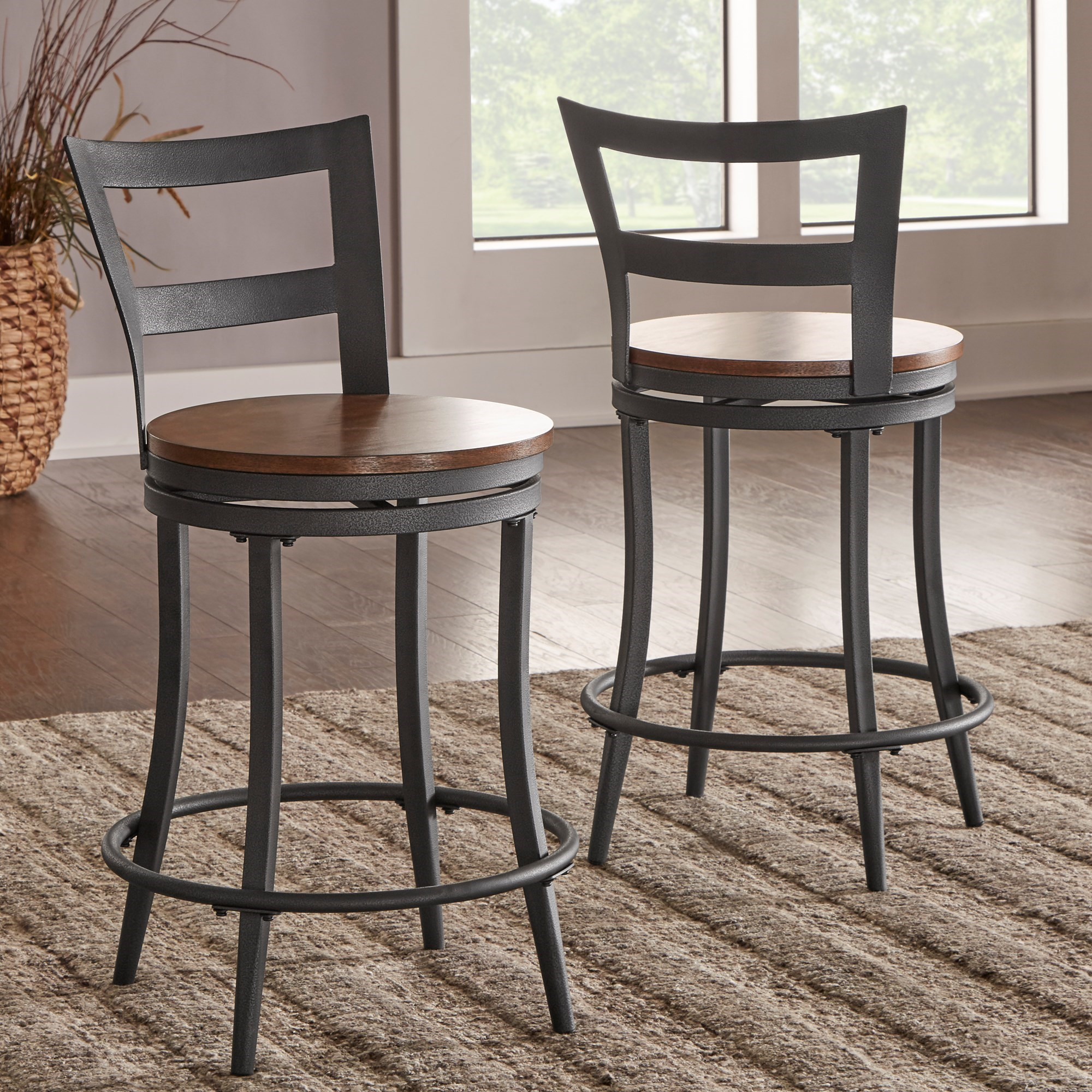 Homelegance Selbyville Contemporary Counter Height Chair