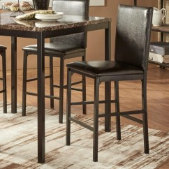 Upholstered Counter Height Chairs Bentwood Cane Chair Homelegance Tempe Casual Stool Value
