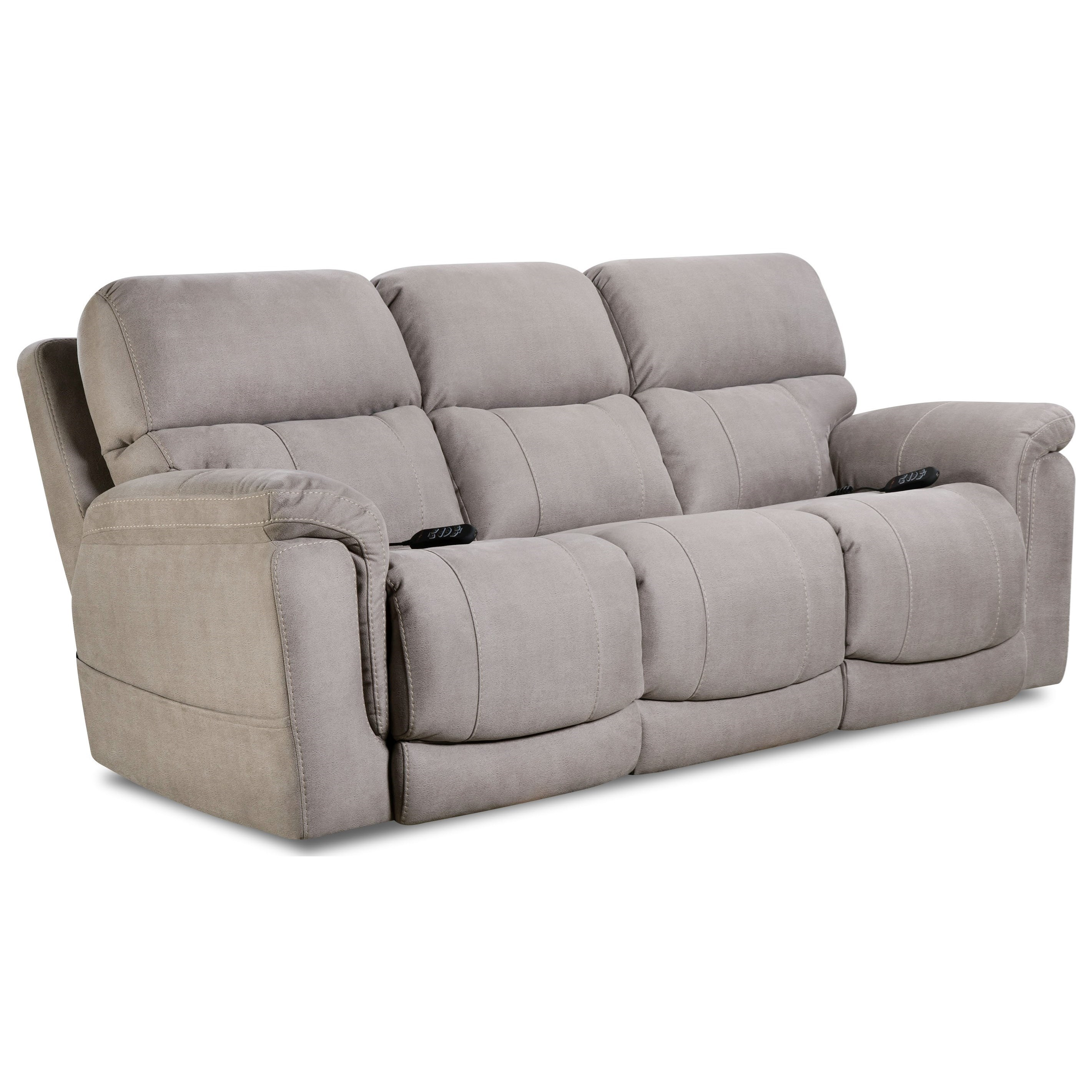 Double Recliner Chair Tampa Double Reclining Power Sofa By Homestretch At John V Schultz Furniture