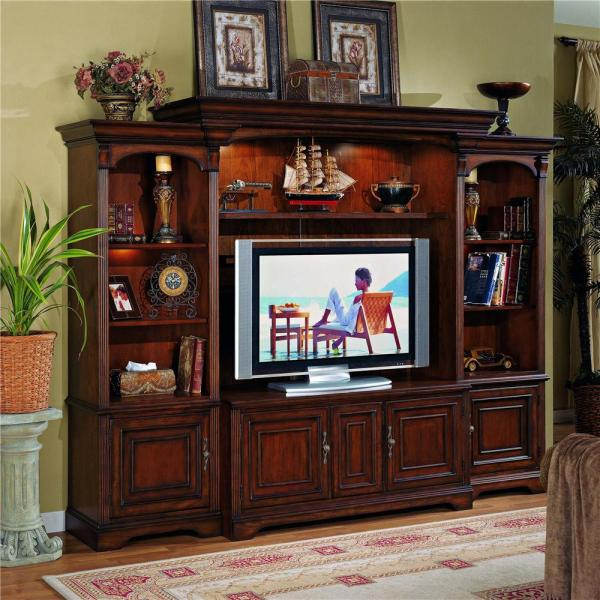 Hamilton Home Brookhaven Entertainment Center With