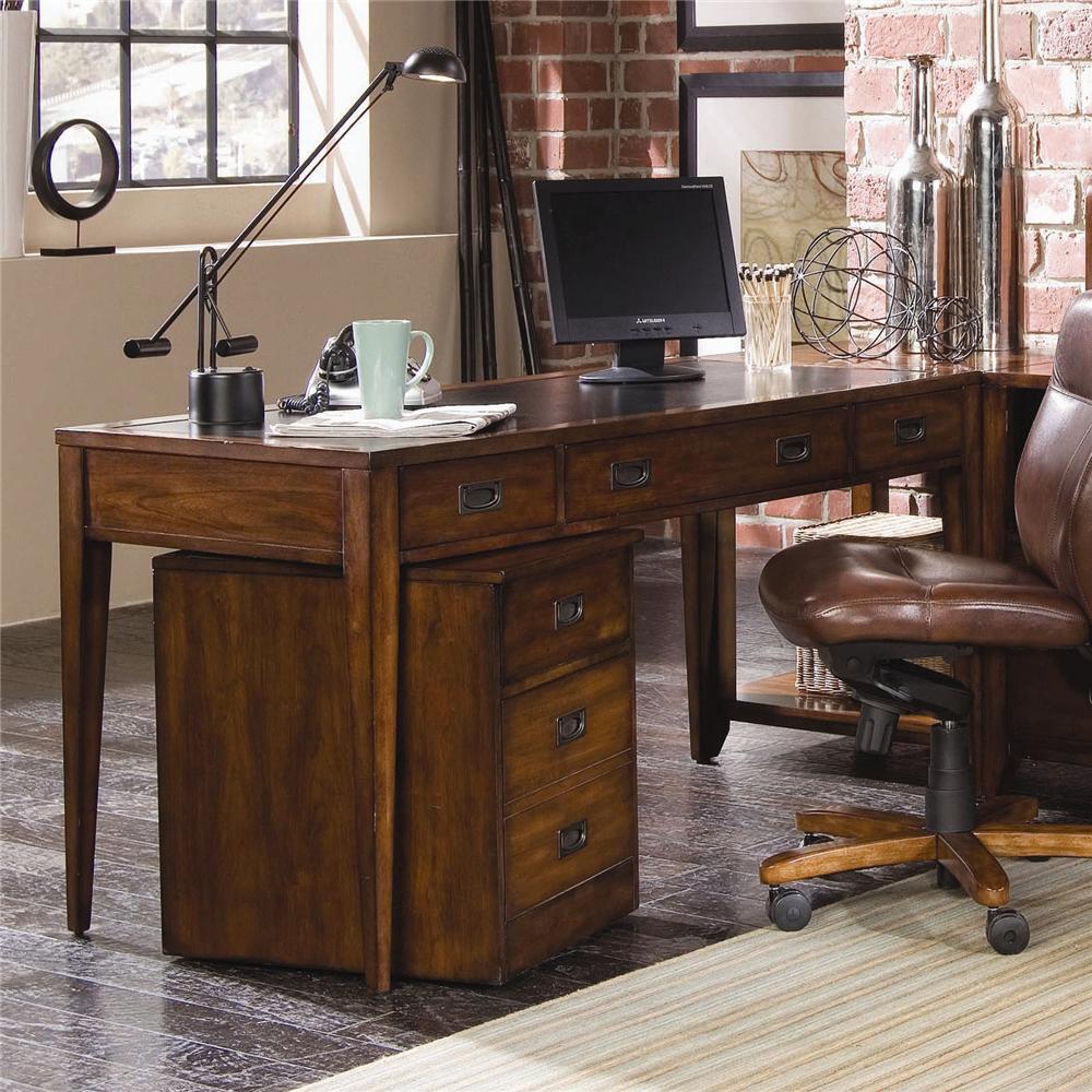 Hooker Furniture Danforth 38810458 Executive Leg Desk