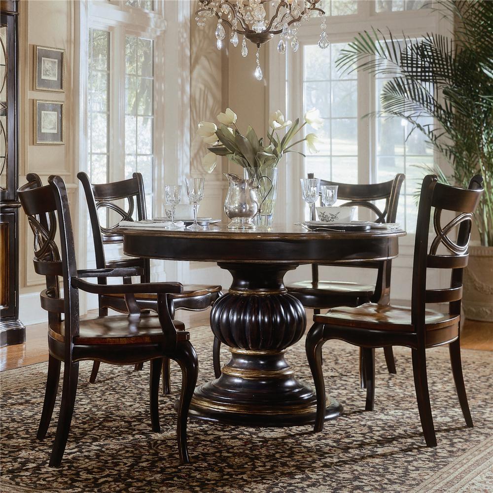 al s chairs and tables portable beach hooker furniture preston ridge dining table ahfa 5 piece set dealer locator
