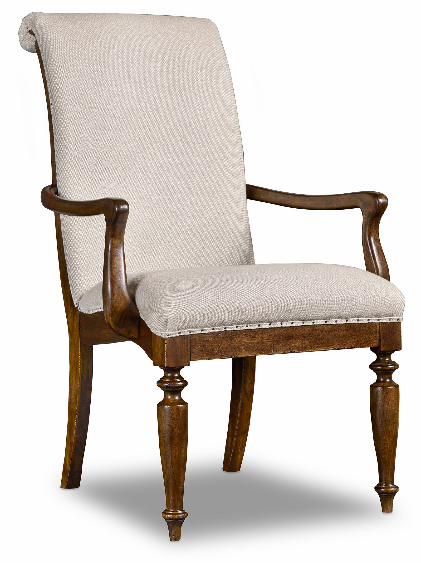 Hooker Furniture Archivist Upholstered Arm Chair with