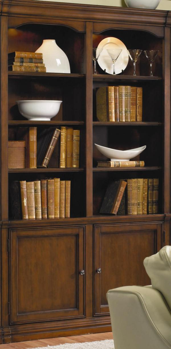 Hooker Furniture Cherry Creek 258-70-448 Traditional 52 Wall Bookcase Baer'