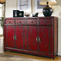 Hooker Furniture Chests and Consoles Red Asian Cabinet ...