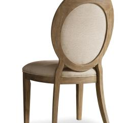 Oval Back Dining Room Chairs Rv Recliners Hooker Furniture Corsica 5180 75412 Side Chair With