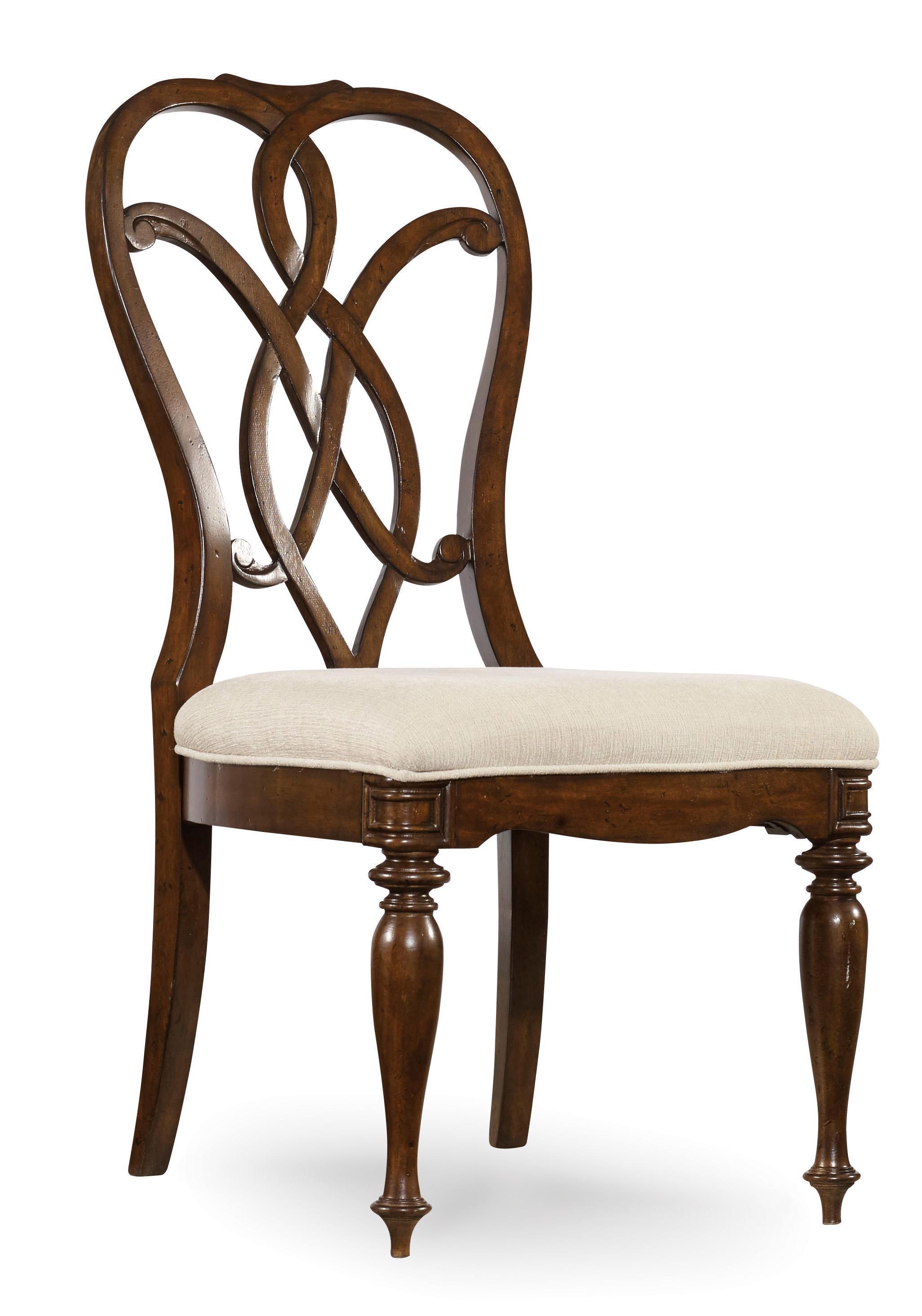 Hooker Furniture Leesburg Splatback Side Chair with