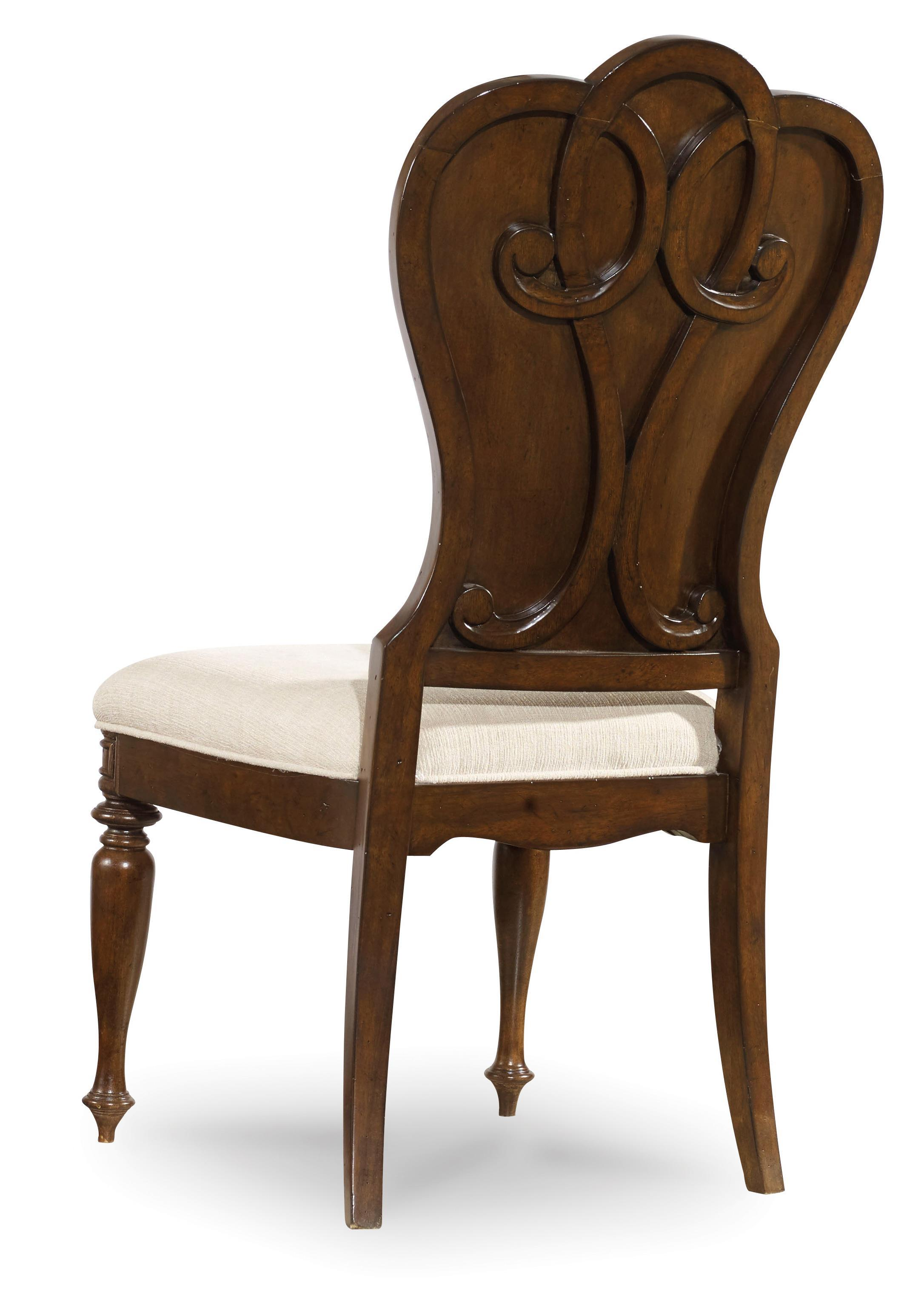 Hooker Furniture Leesburg Upholstered Side Chair with Nail