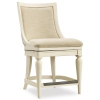 Hooker Furniture Sandcastle Upholstered Swivel Counter ...