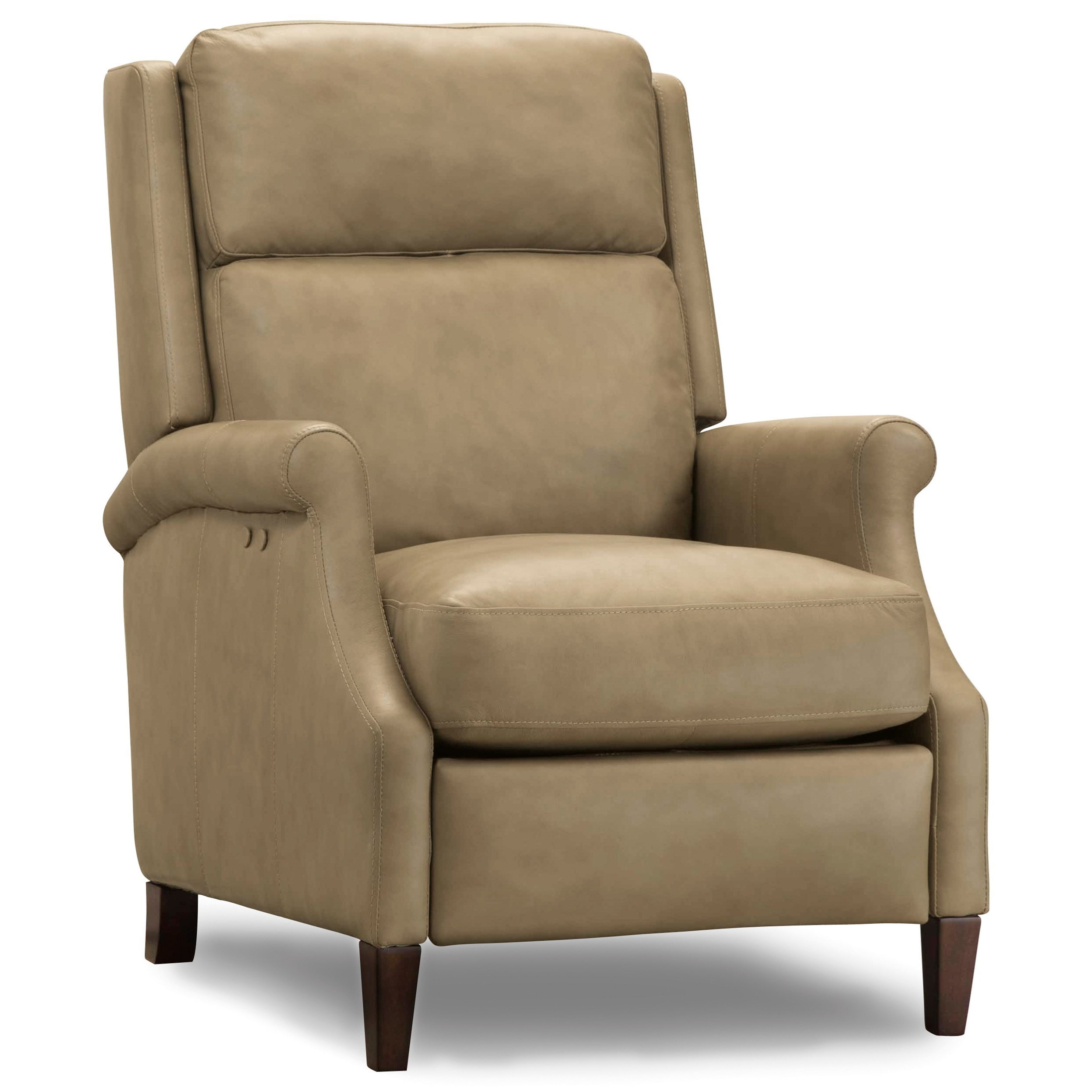 Leather Reclining Chairs Reclining Chairs Allie Transitional Power Recliner By Hooker Furniture At Belfort Furniture