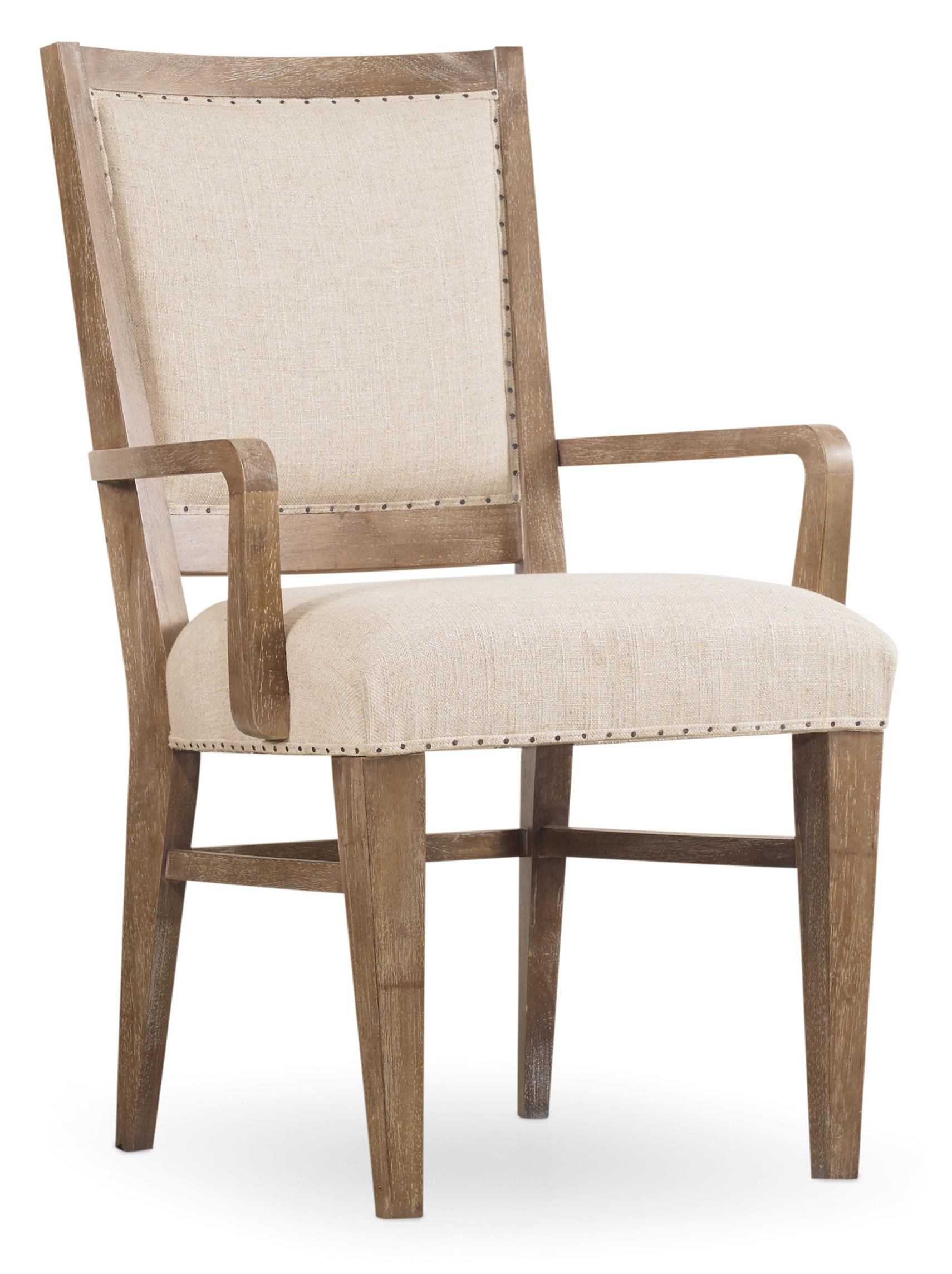 Hooker Furniture Studio 7H Stol Upholstered Arm Chair With