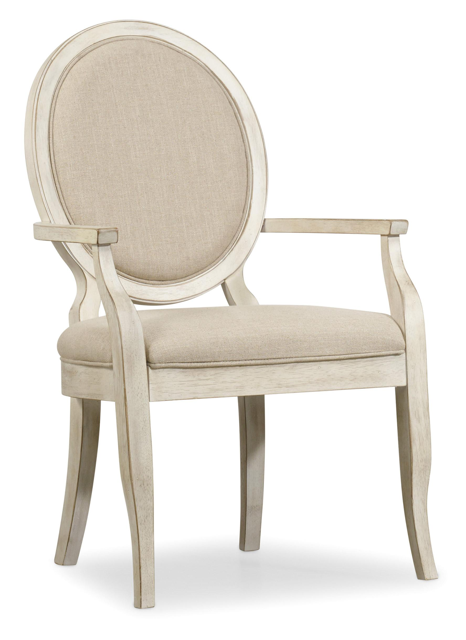 Fit Chair Sunset Point Casual Cottage Coastal Upholstered Arm Chair By Hooker Furniture At Stoney Creek Furniture