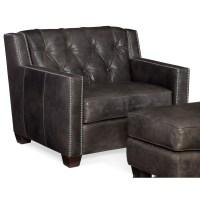Hooker Furniture Trellis Transitional Stationary Leather ...