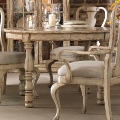 White Round Kitchen Table Pots And Pans Hooker Furniture Wakefield Leg Dining With Expandable
