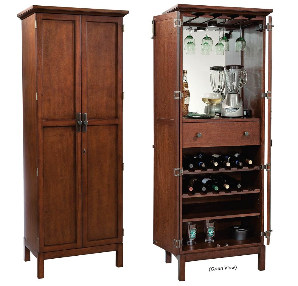 Wine  Bar Furnishings Sutton Bay Wine  Bar Cabinet