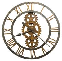 625 Series Crosby Metal Wall Clock by Howard Miller