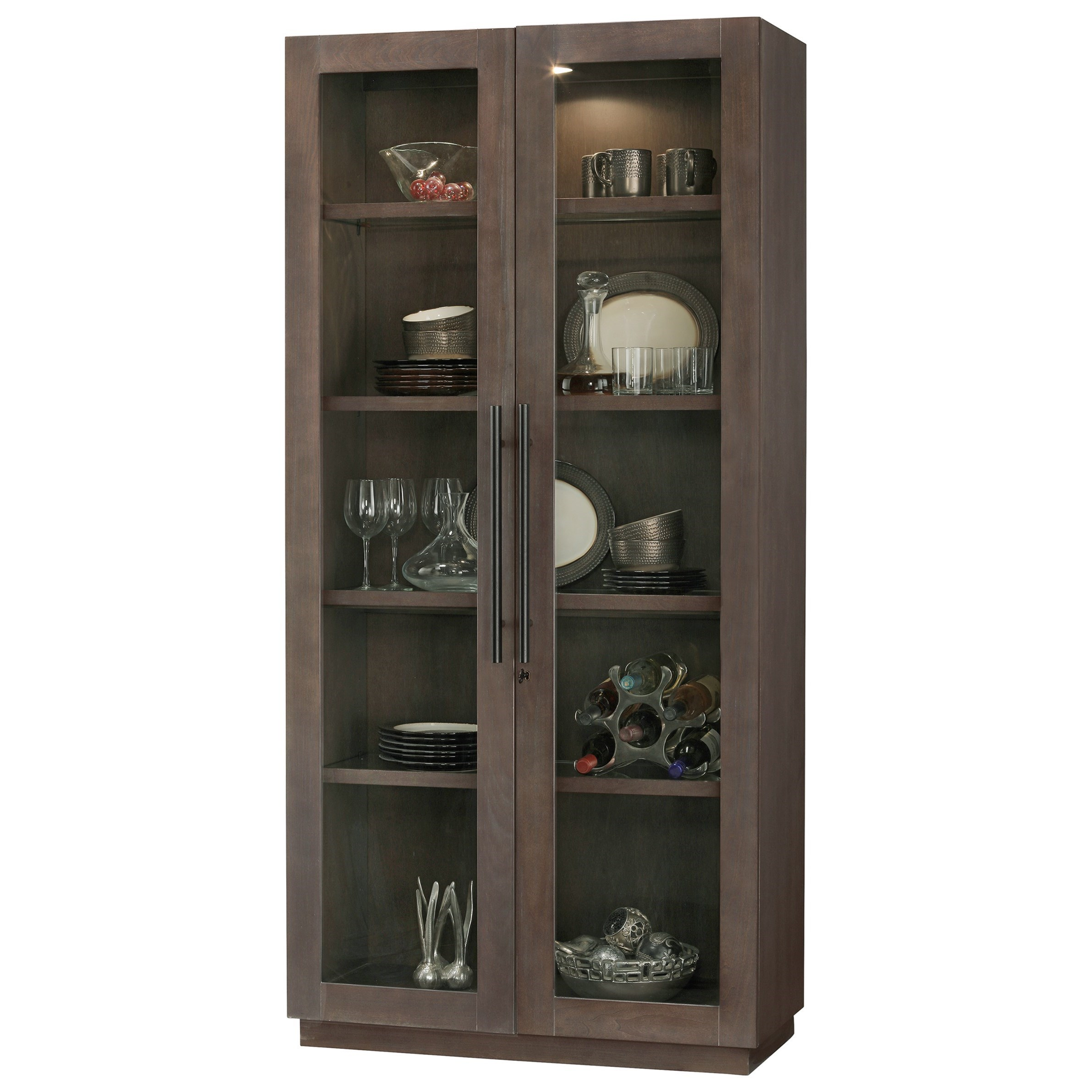 Howard Miller Cabinets Morrissey Cabinet with Interior