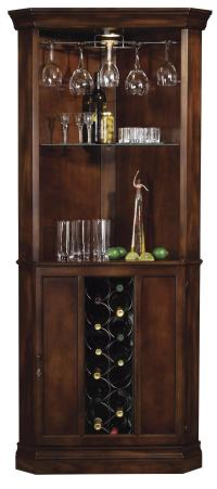 Howard Miller Wine & Bar Furnishings Piedmont Corner Wine ...