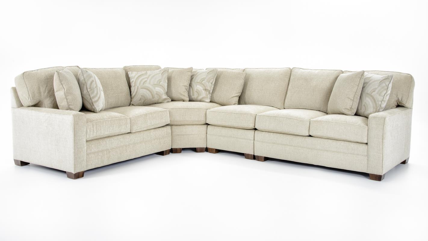 huntington sectional sofa arm covers house 2062 four piece ...